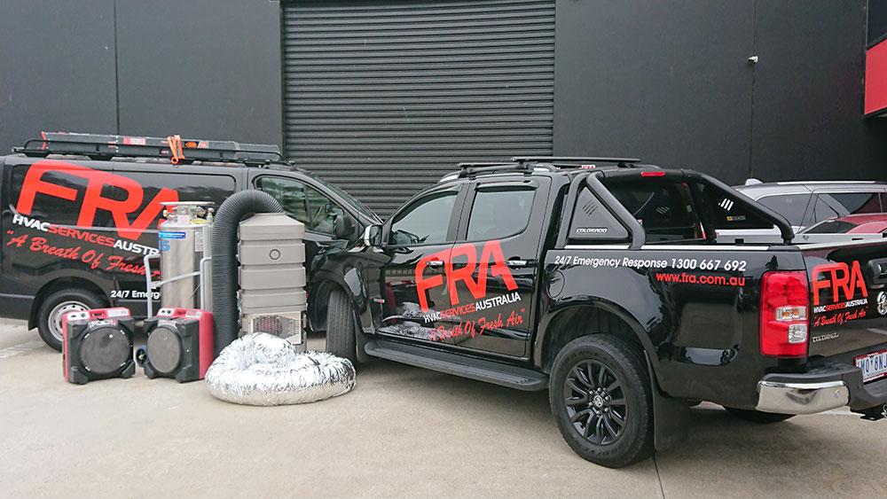 HVAC FRA Vans